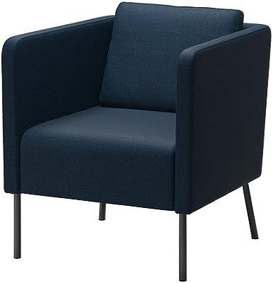 IKEA Ekerö - Sillón, Skiftebo azul oscuro