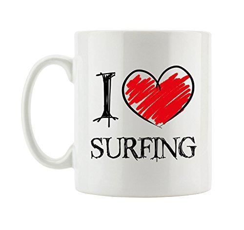 I love Surfing Fun Tasse