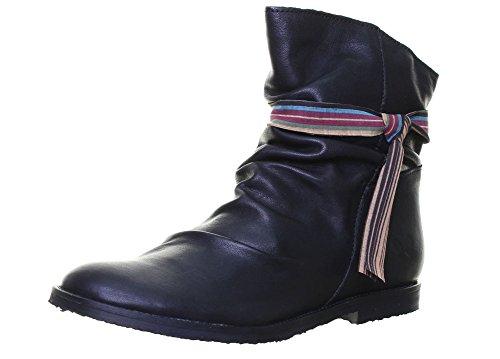 Felmini 9071, Stivali donna, nero (Black D12), 40