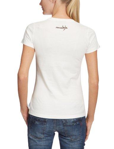 Maloja t-shirt fannerlm Blanc - Blanc