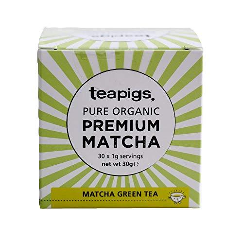 teapigs Organic Matcha Super Power Green Tea, 30g