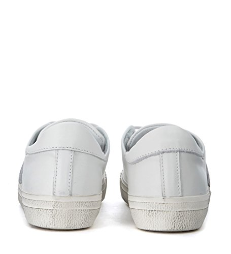 Philippe Model Sneaker Courses En Cuir Blanc Blanc