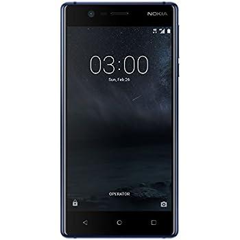 Nokia 3 Smartphone portable débloqué LTE (Ecran: 5 pouces - 16 Go - Nano-SIM - Android) Bleu