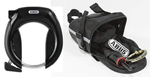 Abus 5950 NR PRO Shield Plus + 6KS/85 + ST5950 Fahrradschloss, Black, One Size -