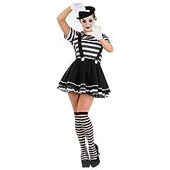 Idea Regalo - Fun Shack Costume Womens Mime m Donna