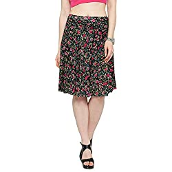 Camey Women Printed Skirts With Divider Shorts
