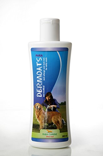Para Dermoats Shampoo 200 ml Anti-Allergic & Anti-Itch for Daily Wash