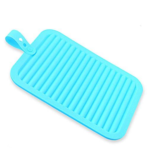 EPHVODI Silikon Glas, Cup & Dish Plate Trockenmatten, Roll Up Wärmeisolierung Pads, Geschirrspüler, Mikrowelle Und Ofen Verwenden Sicher, 11,6