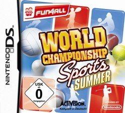 World Championship Sports: Summer - Ds-sport-spiele