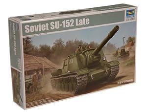 Trumpeter 05568 - Maqueta de cañón autopropulsado soviético SU-152 Late