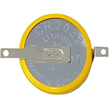 1x F2de CMOS batería/Battery BIOS BR/CR2032–1F2con soldadura 3V para PC V. Eunicell