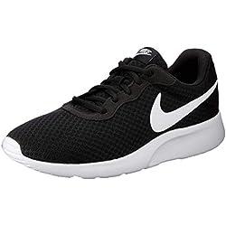 Nike Tanjun, Zapatillas de Running para Hombre, Negro (Black/White 011), 43 EU