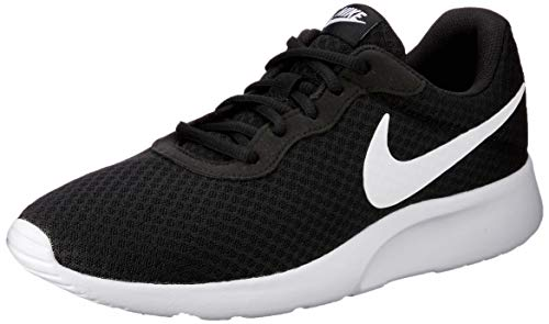 Nike Herren Tanjun Sneakers Schwarz (011 Black/White) 47.5 EU