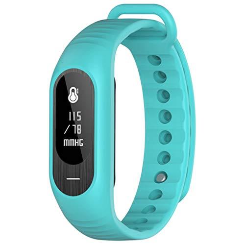 Lovely Frecuencia cardíaca Presión Arterial Sueño Saludable Monitoreo Bluetooth Deportes Pulsera Soporte...
