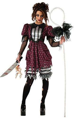 e 's Offizielles Little Bo Creep Peep Kinderlied Halloween Erwachsene Kostüm Damen XS (Bo Peep Kostüm Kostüme)