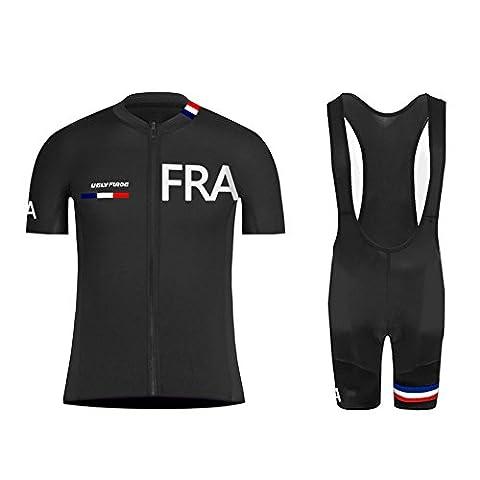 Uglyfrog 2017 Nouveaux Homme VTT Vêtements de sport de plein air Cyclisme Maillot manches courtes pour l'été Cycle Bike shirt vélos Top Maillot de cyclisme & Cuissards Combinaison de maillots DXS01