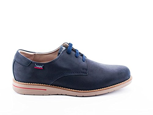 Chaussure Callaghan Bleu 89100 de la peau Bleu