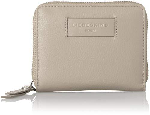 Liebeskind Berlin Damen Essential Conny Wallet Medium Geldbörse, Grau (String Grey), 3x11x13 ()