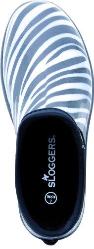 Y Jardín Cebra Zapatos El Lluvia Sloggers Mujer awEqTRw