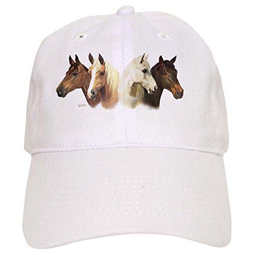 CafePress Horse Multi Mug Cap - Baseball Cap with Adjustable Closure, Unique Printed Baseball Hat