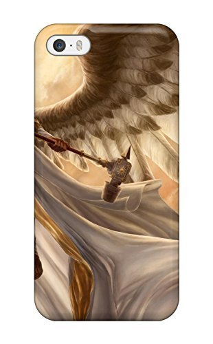 Amanda W. Malone's Shop For MarvinDGarcia Iphone Protective Case, High Quality For Iphone 5/5s Angel Warrior Skin Case Cover 3047366K99671378