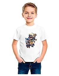 Camiseta niño dibujo royale (Talla 10/11)