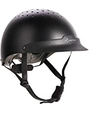 Fouganza Adult Horse Riding Helmet C-100 Black