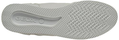 Geox D Chewa B, Scarpe da Ginnastica Alte Donna Bianco (Whitec1000)