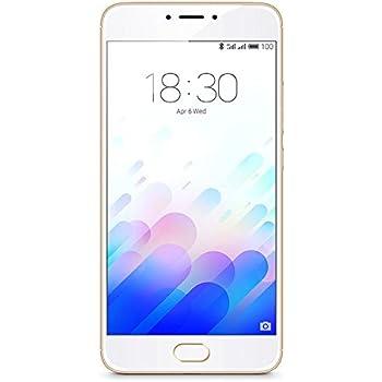 "Meizu M3 note - Smartphone de 5.5"" (procesador Octacore Helio P10, 3 GB RAM, 32 GB), color oro"