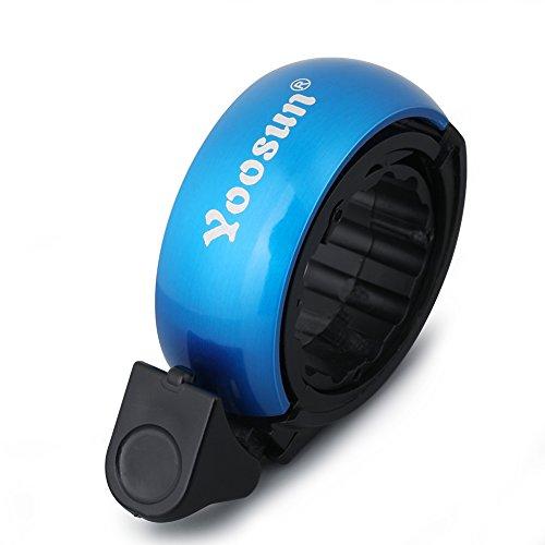 YOOSUN Fahrradklingel Laut,Fahrrad Ring mit klaren Sound Fahrradklingeln Q Aluminium Fahrradkling für Gebirgsstraßen-Touring-Fahrrad