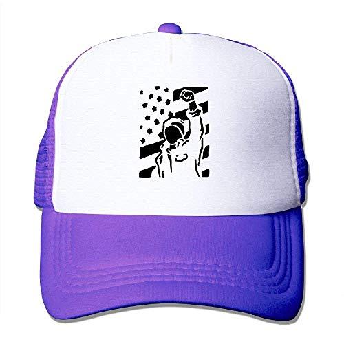 Voxpkrs Patriotische USA-Flagge Unisex-justierbare Hüte Hip Hop-Kappen | Baseballkappe Netzrücken U8I001847