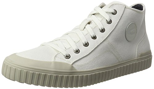 Camel Active Rail 13, Sneakers Hautes Homme Blanc (White 01)