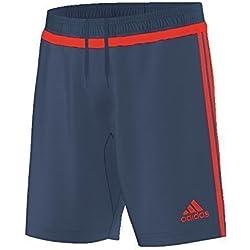 adidas Pantalones Entrenamiento para tiro 15, hombre, color Blau - - Bleu/Rouge, tamaño xx-large