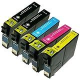 Pack 5 cartouches Compatibles EPSON T18XL (pâquerette)