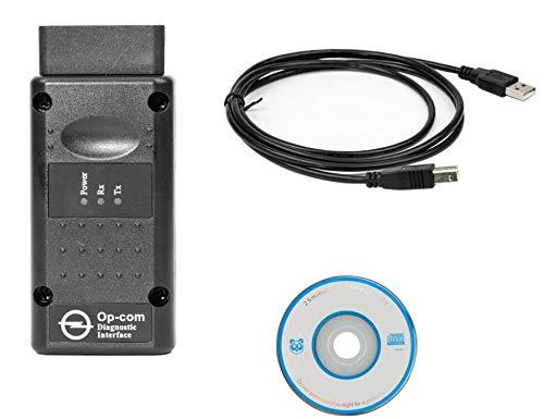 HaoYiShang Can OBD2 firmware V1 99 con Chip 45K80 per Opel OPCOM OP-Com