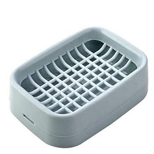 Niya Soft Holder Bathroom Accessories Molds for Soap Sink Sponge Drainage Soap Dish6pcs -