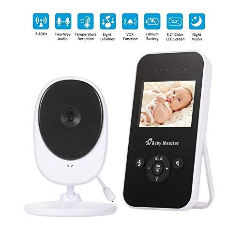 BABY MONITOR ZLMI Portefeuille bidirectionnel d'interphone Vocal d'affichage portatif d'affichage de Moniteur de bébé 15-200 mètres
