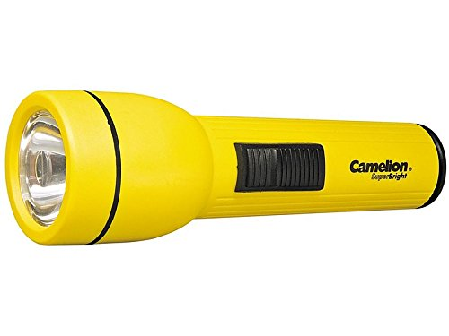 """Preisvergleich Produktbild Camelion 110.01 Taschenlampe """"Super Bright"""" 9 x Durchmesser 6 cm, Plastik, Schwarz, 9 x 6 x 6 cm"""