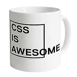 CSS Is Awesome Mug, Blanc