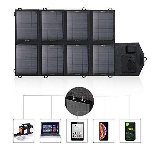 AVISO IMPORTANTE. Conecta tu dispositivo a nuestro cargador de panel solar primero y permite que se cargue directamente bajo la luz del sol. Ten en cuenta que la eficiencia de carga será débil si la luz del sol es débil. Mantener alejado del agua. Es...