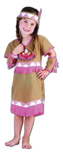Perkins-Humatt 51064 - Disfraz de india para niña
