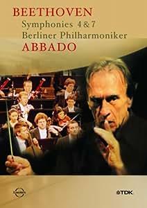 Beethoven - Symphonies 4 and 7 (Abbado, Bpo) [DVD]