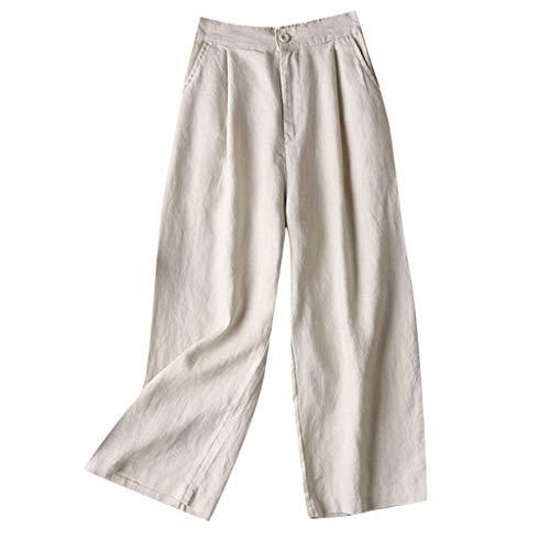Watopi Beiläufige Hosen der Frauen elastische Taillen geerntete Hosen Unterseiten Sport Abnutzungs Hosen -