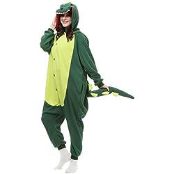 Albrose - Pijama con diseño de figuras para cosplay multicolor Dinosaurio XL