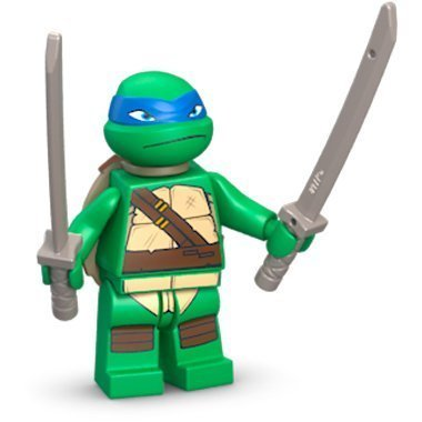 LEGO TMNT - LEONARDO V1 Minifiguren - Teenage Mutant Ninja Turtles