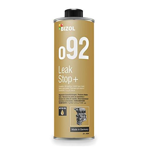 Öl-Verlust-Stop Additiv   BIZOL Leak Stop+ o92   250 ML   zuverlässig gegen Ölverlust   mindert Verschleiß & Reibung   schützt vor Leck-Verlusten, Korrosion & Ölalterung