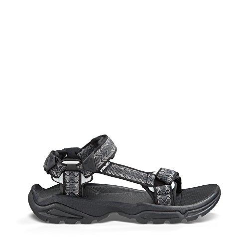 Teva terra fi 4 sandali sportivi, uomo, nero (ctbc), 43