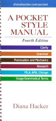 Pocket Style Manual Pdf
