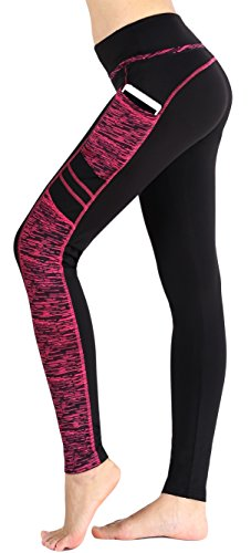 SugarPocket Sugar Pocket Women's Active Running Workout Yoga Capri Leggings