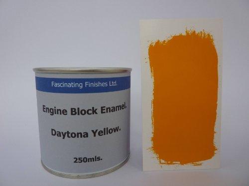 1-x-250ml-daytona-yellow-heat-resistant-engine-block-enamel-petrol-oil-resistant